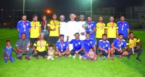 برعاية وزير التنمية الاجتماعية فريق السلام يحافظ على لقب البطولة الكروية الثالثة لموظفي وزارة التنمية الاجتماعية