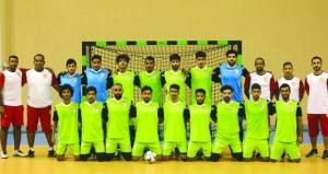 منتخبنا الوطني لكرة القدم للصالات يخوض حصتين تدريبيتين أسبوعيا طوال شهر رمضان المبارك