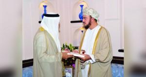 دعوة جلالته لحضور  القمة الخليجية الطارئة
