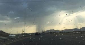 أمطار متفرقة وارتفاع درجات الحرارة