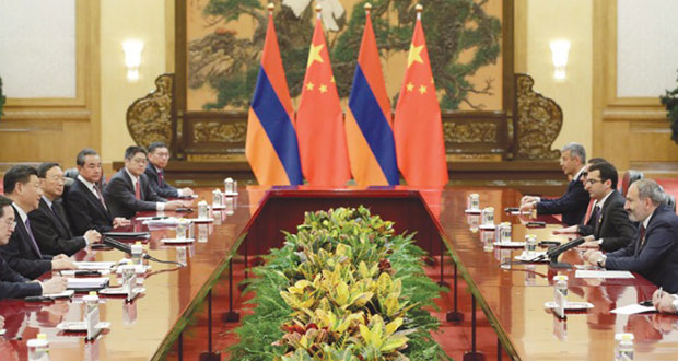 بكين ليست مهتمة بمعاهدة (الحد من النووي) مع واشنطن وموسكو