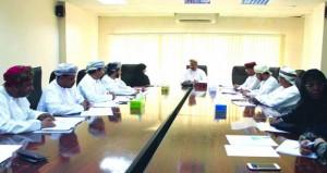 إجتماع اللجنة المشتركة للصحة المدرسية لمحافظة ظفار