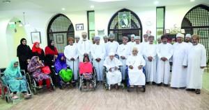 (حقوق الإنسان) تزور دار الرعاية الاجتماعية بالرستاق