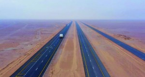 افتتاح 140 كم من ازدواجية مشروع طريق أدم ـ ثمريت أمام الحركة المروية الأربعاء القادم