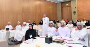 الهيئة العامة لسوق المال تبحث استراتيجية تمكين الموارد البشرية