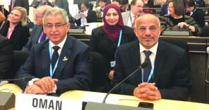 السلطنة تشارك في اجتماعات جمعية الصحة العالمية بجنيف