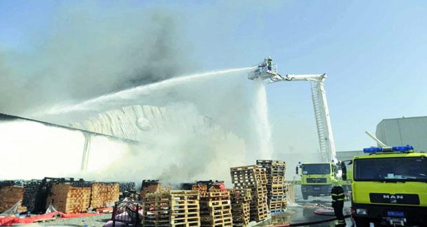 زيادة حوادث حرائق المركبات والمساكن والمزارع والمصانع ومستودعاتها