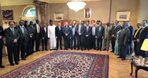 سفارة السلطنة بلندن تستضيف اللقاء الأول لمجلس السفراء العرب والأفارقة المعتمدين لدى المملكة المتحدة