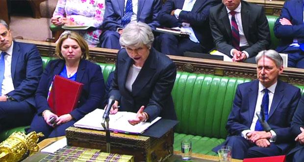 بريطانيا: ماي تناشد (العمال) دعم فرصتها الأخيرة لتسوية (الخروج)