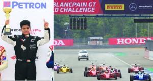 شهاب الحبسي يواصل حصد الألقاب ويتوج ببطولة آسيا للفورمولا 4 بتايلند