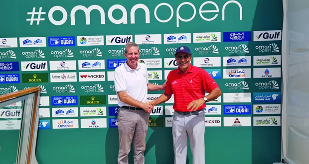 شراكة بين اللجنة العمانية للجولف ومنظمي الجولة الأوروبية