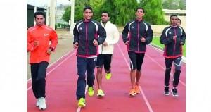 المنتخب الوطني لألعاب القوى للناشئين يستعد لثلاث بطولات قادمة