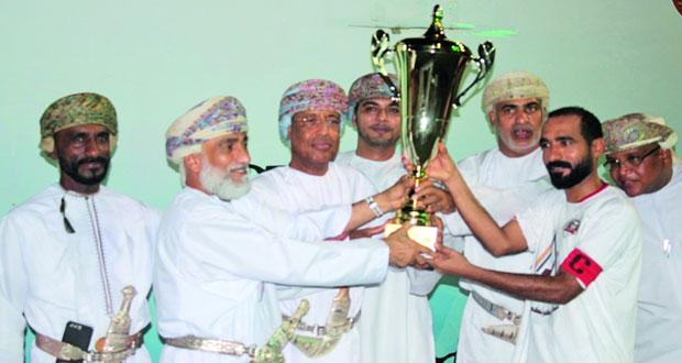 فريق الانتصار يتوج بطلا لبطولة ميلانين للنخبة بنادي المصنعة