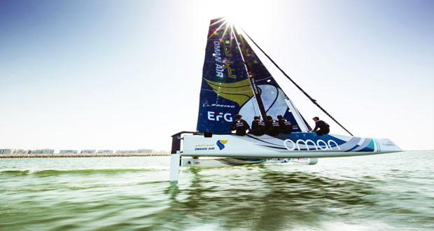 """اليوم .. القارب الطيران العماني يستهل مشواره في الجولة الأولى لبطولة """"جي سي32″ في شواطئ مدينة فيلاسيمينيوس"""