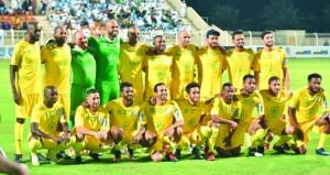أصدقاء علي الحبسي وأصدقاء عماد الحوسني يرتضيان التعادل 2/2