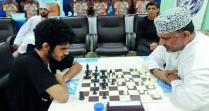 ختام بطولة النخبة للشطرنج بنادي صلالة