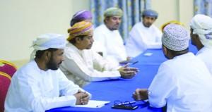 اجتماع اللجنة المنظمة لمسابقة شجع فريقك بنادي الوحدة