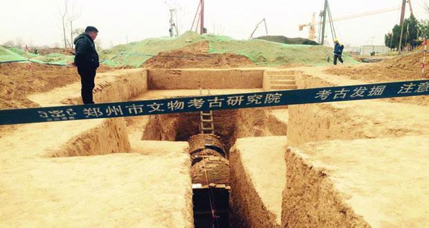 اكتشاف 160 مقبرة أثرية وسط الصين