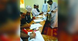 حلقة عمل في مجال الخط العربي بالعوابي