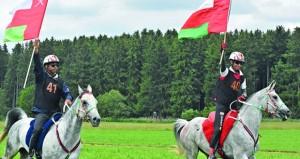 الخيالة السلطانية تفوز بسباق بوش الألماني للقدرة