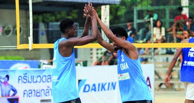 منتخبنا لكرة الطائرة الشاطئية يشارك في بطولة العالم للشباب