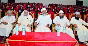 افتتاح الدورة الفقهية الشرعية المكثفة وبرنامج الإجازة القرآنية