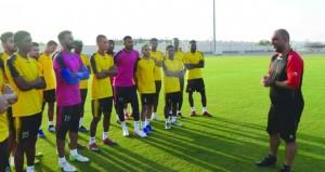 المنتخب العسكري لكرة القدم ينهي معسكره التدريبي الداخلي