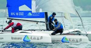 فرق عمان للإبحار الشراعي تستعد للمشاركة في سباق كأس نورماندي استعدادا للمشاركة في الطواف الفرنسي