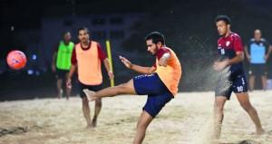 اليوم انطلاق المعسكر الداخلي لمنتخبنا لكرة القدم الشاطئية استعدادا لكأس العالم ببارجواي