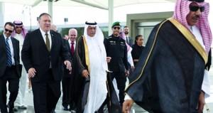 السعودية وأميركا تستعرضان الأحداث في المنطقة