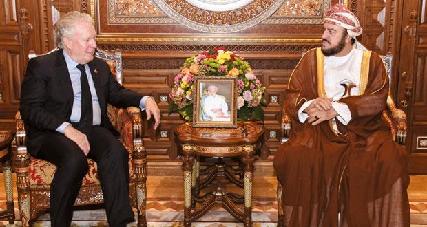 جلالة السلطان يتلقى رسالة من رئيس الوزراء الكندي