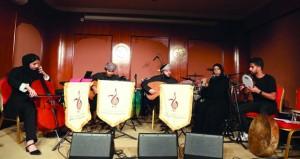"""فرقتيا """"المعهد العربي للموسيقى"""" و""""لوجينيا"""" تقدمان المعزوفات والأغاني المتنوعة في برنامج """"رعاية أنشطة الشباب الموسيقية"""""""