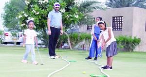 مواهب واعدة ومخرجات مجيدة يكتشفها البرنامج الصيفي لفتيات الجولف