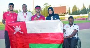منتخبنا لذوي الإعاقة يضيف ثلاث ميداليات ويرفع رصيده إلى 5 ميداليات ملونة في ملتقى تونس الدولي لألعاب القوى