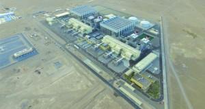 أكثر من 9.87 ألف جيجا واط في الساعة إنتاج السلطنة من الكهرباء