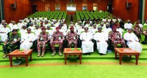انطلاق التمرين الاستراتيجي السنوي ( صنع القرار 6) بكلية الدفاع الوطني