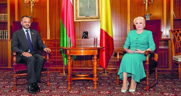 التأكيد على مواصلة تطوير العلاقات بين السلطنة ورومانيا في كافة المجالات