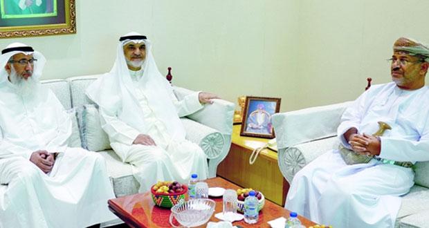 المُدعي العام يستقبل وفداً من الإدارة العامة للتحقيقات بالكويت