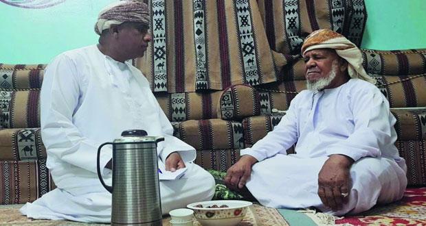 راشد الغافري 26 عاما من العطاء لتعليم القرآن الكريم في الدريز بعبري