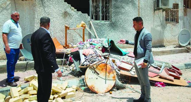 العراق :هجوم صاروخي على شركة نفطية ومجمع القصور بالموصل