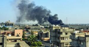 ليبيا: حفتر يتوعد (الوفاق) ويأمر باستهداف السفن التركية