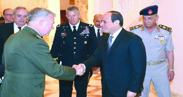 مصر وأميركا تبحثان تطورات الأوضاع في سوريا
