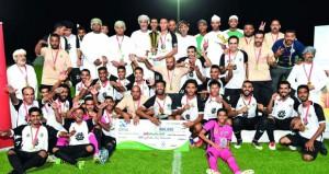 النصر يتوج بطلا لبطولة شجع فريقك بإزكي والسد وصيفا