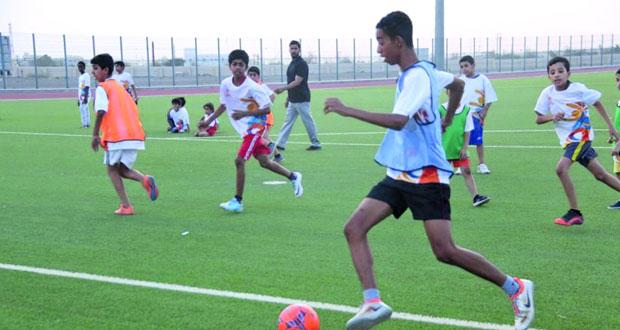 إقبال كبير على فعاليات صيف الرياضة بمحافظة البريمي