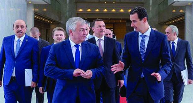دمشق وموسكو تبحثان مستجدات الحرب على الإرهاب