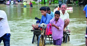 وفاة 35 شخصا وتضرر أكثر من 5ر1 مليون بسبب الفيضانات بالهند