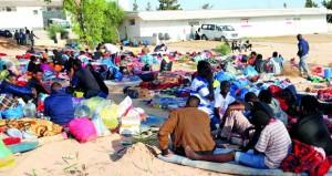 إنقاذ مهاجرين في (المتوسط) وارتفاع ضحايا غرق سفينة قبالة تونس