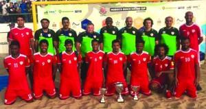 منتخب القدم الشاطئية يظفر بلقب بطولة أغادير الدولية بالمغرب بمشاركة 4 منتخبات