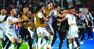 أمم إفريقيا: محرز ينهي انتظار الجزائر ومواجهة متجددة مع السنغال في النهائي
