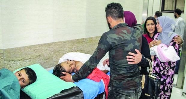دمشق تشكل لجنة للتحقيق في حريق برج دمشق